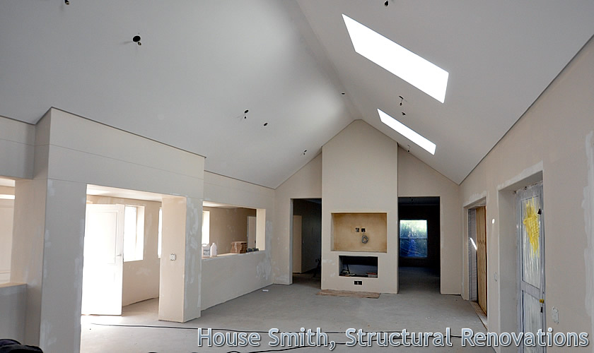 House Smith, Structural Renovations