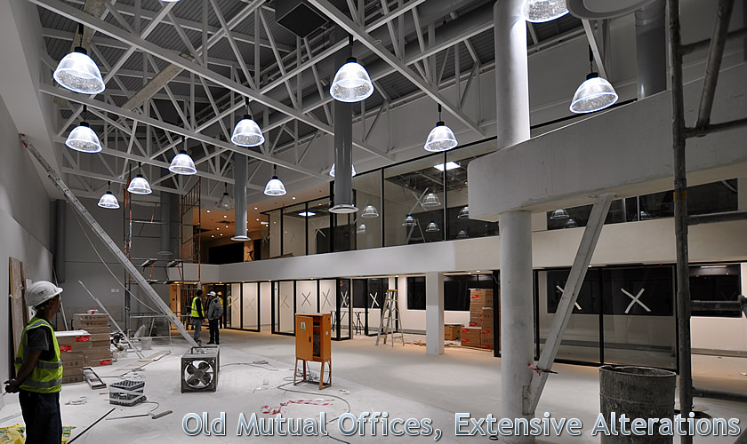 Old Mutual Offices, Extensive Alterations